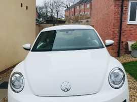 Volkswagen Beetle, 2014 (14) White Hatchback, Manual Diesel, 76,000 miles
