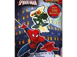 Spiderman 700 Sticker Sheet Book