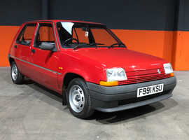 1989 RENAULT 5 CAMPUS  VERY LOW MILES 1 FORMER KEEPER 12 MONTHS MOT INCLUDED