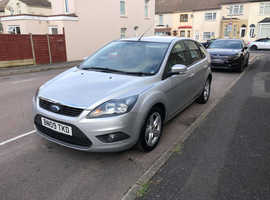 Ford Focus, 2009 (09) Silver Hatchback, Manual Diesel, 100,000 miles