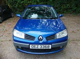Renault Megane, 2007 (07) Blue Hatchback, Manual Petrol, 74,000 miles, £800 ONO