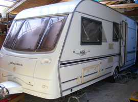 2004 Coachman VIP 520, luxury 4 berth caravan, motor mover, awning & free extras