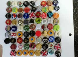 Lager/Beer Bottle Tops x 1200 ideal for mancave bar £35 including postage in UK