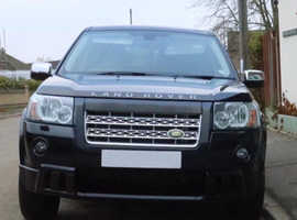 Land Rover Freelander 2, 2007 (57) Black Estate, Manual Diesel, 113,000 miles HST SE TD4, Full Service History