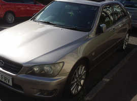 Lexus Is, 2004 (04) Grey Saloon, Manual Petrol+lpg, 132,729 miles