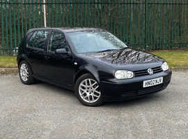 2002 VW GOLF GT TDI PD130 - FULL BLACK LEATHER, 1 OWNER, BEST AVAILABLE