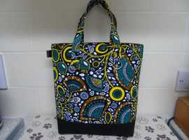 african style tote bag