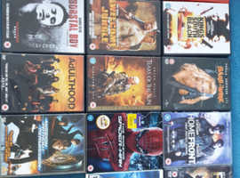 DVDs and games
