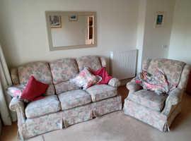 3 Seater Sofa & Armchair (G Plan)