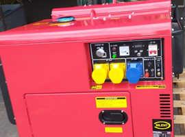 15 kva Silent Perkins Diesel Generator