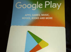 £50 Google Play Gift Cards