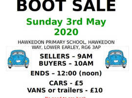 May Car Boot Sale Hawkedon Primary School Association