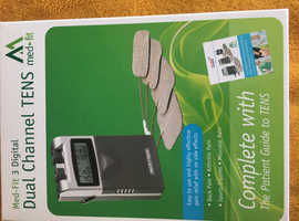Med-Fit 3 TENS Machine.   (Pain Relief).  £20