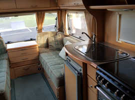 Abbey advantage sl 6 bearth caravan