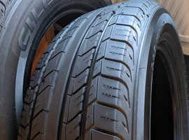2x Blacklion 235 60 R17 tyres