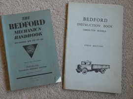 BEDFORD INSTRUCTION BOOK & BEDFORD MECHANICS BOOK; BOTH FIRST EDITIONS VERY RARE