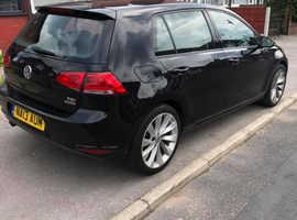 Volkswagen Golf, 2013 (13) Black Hatchback, Manual Diesel, 99,415 miles