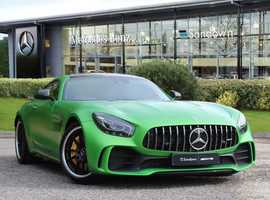 Mercedes GT, 2019 (19) green coupe, Automatic Petrol, 14 miles