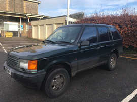 Land Rover Range Rover, 1995 (M) Green Estate, Manual Diesel, 282,944 miles