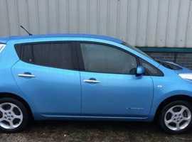 Nissan Leaf, 2014 (14) blue hatchback, Automatic Other, 22,945 miles