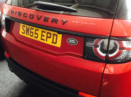 Land Rover DISCOVERY SPORT, 2015 (65) Red Estate, Automatic Diesel, 20,500 miles
