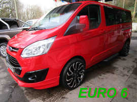2016 66 FORD CUSTOM TOURNEO 2.0TDCi ZETEC EURO 6