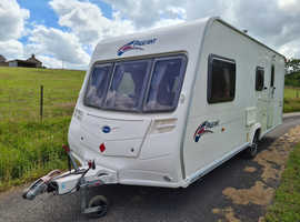 2007 bailey pageant champagne 4 berth caravan