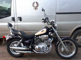 AMAZING 1995 YAMAHA XV750 VIRAGO, 18345 MILES, CUSTOM BARS, CUSTOM INDICATORS.