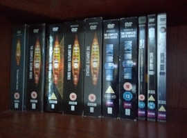 Doctor Who DVDs S1-S7 plus specials