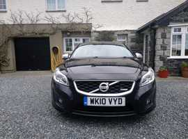 Volvo C30, 2010 (10) Black Hatchback, Manual Diesel, 34,000 miles