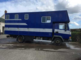 7.5ton horse lorry for sale