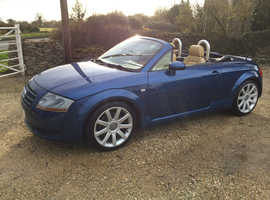 Audi TT, 2003 (03) Blue Convertible, Manual Petrol, 96,000 miles