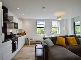 Stylish 2 bed 2 bath apartment in downtown Bristol