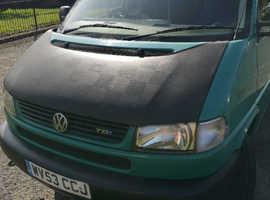 Volkswagen Transporter, 2003 (53) Green MPV, Manual Diesel, 223,000 miles