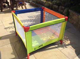 Play Pen also a travel cot