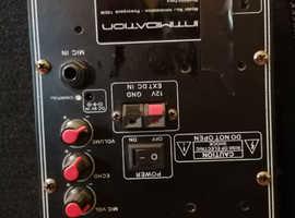 Peavey stereo amplifier