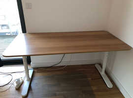 Almost NEW, adjustable Office Desk IKEA negotiable price