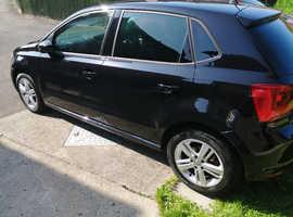 Volkswagen Polo, 2017 (67) Black Hatchback, Manual Petrol, 17,103 miles