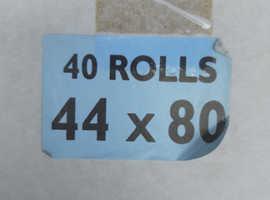 Box of 44x80 Till Rolls (40x Rolls) Brand New