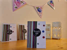 Beautiful Handcrafted Thankyou Cards