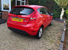 Ford Fiesta, 2009 (59) Red Hatchback, Manual Petrol, 113,000 miles