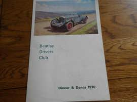 BENTLEY DRIVERS CLUB