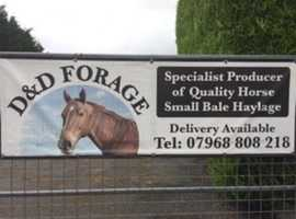 Small bale Haylage