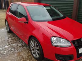 Volkswagen Golf, 2007 (57) Red Hatchback, Manual Petrol, 111,917 miles