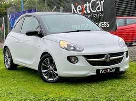 Vauxhall Adam, 2016 (16) white hatchback, Manual Petrol, 40,746 miles