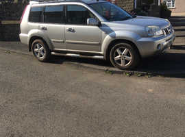 Nissan X-TRAIL, 2004 (54) Silver Estate, Manual Diesel, 124,000 miles