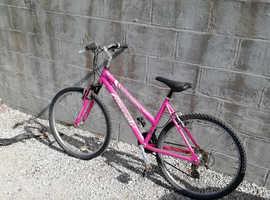 Raleigh ladys bike
