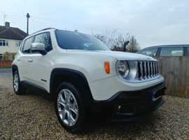 Jeep Renegade, (66) Excellent condition, Warranty until 30/09/19, price ONO