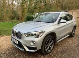 BMW X1, 2016 (16) Silver Estate, Automatic Diesel, 51,864 miles