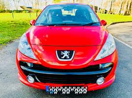 Peugeot 207, 2009 (09) Red Hatchback, Manual Petrol, 86,000 miles